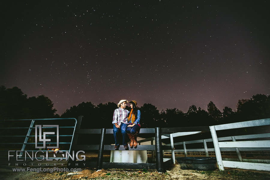 Atlanta Indian Engagement Session at Lake Lanier Stables