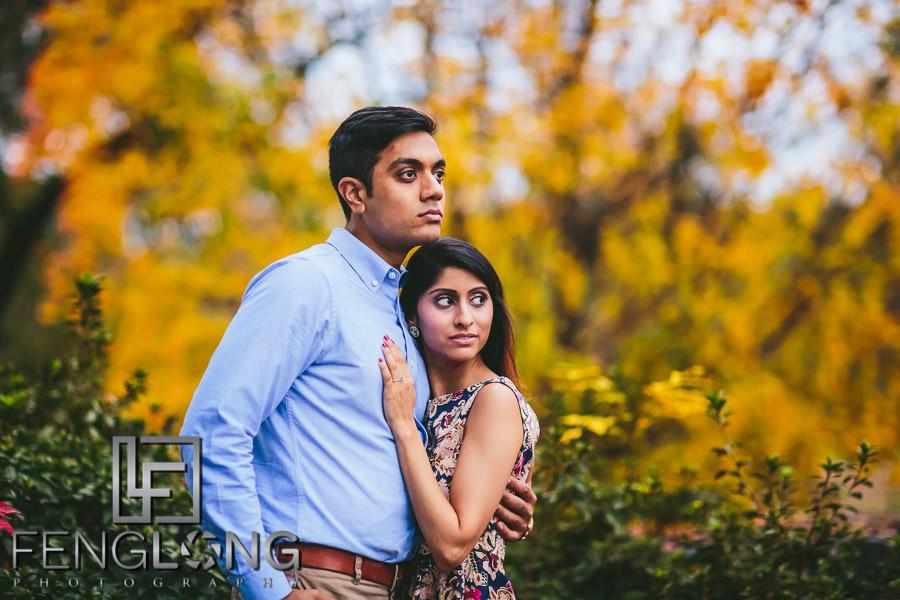 Atlanta Goat Farm Engagement Session Radhika & Kishan