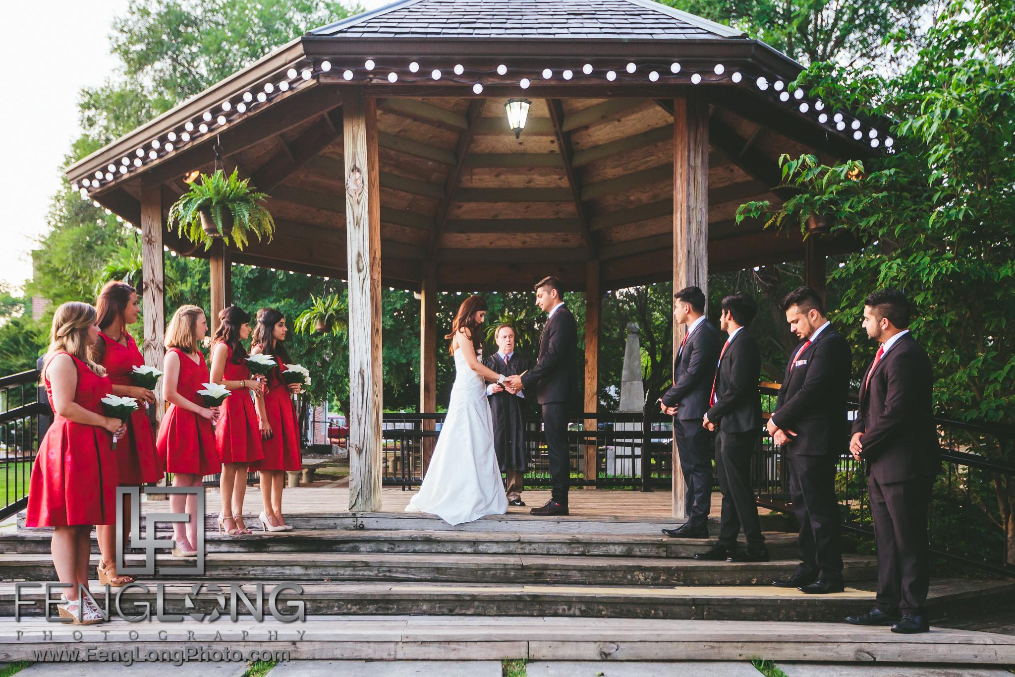 Gwinnett Historic Courthouse Indian Wedding Civil Ceremony