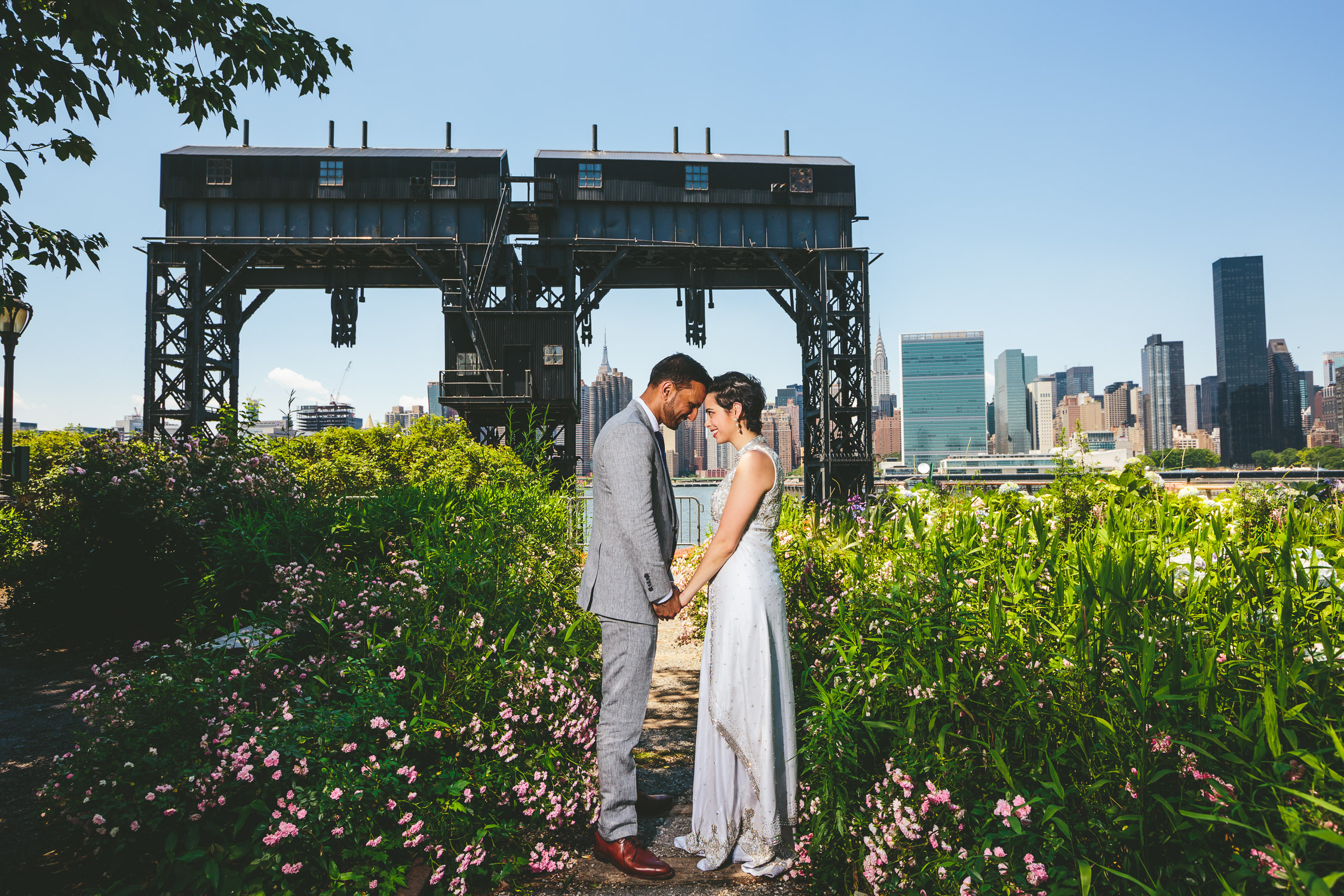 Long Island City Fusion Indian Wedding Civil Ceremony