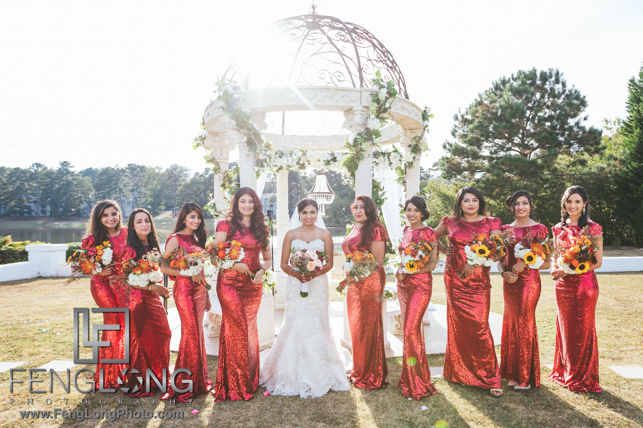Wedding Party Portraits with Canon 5D Mark IV