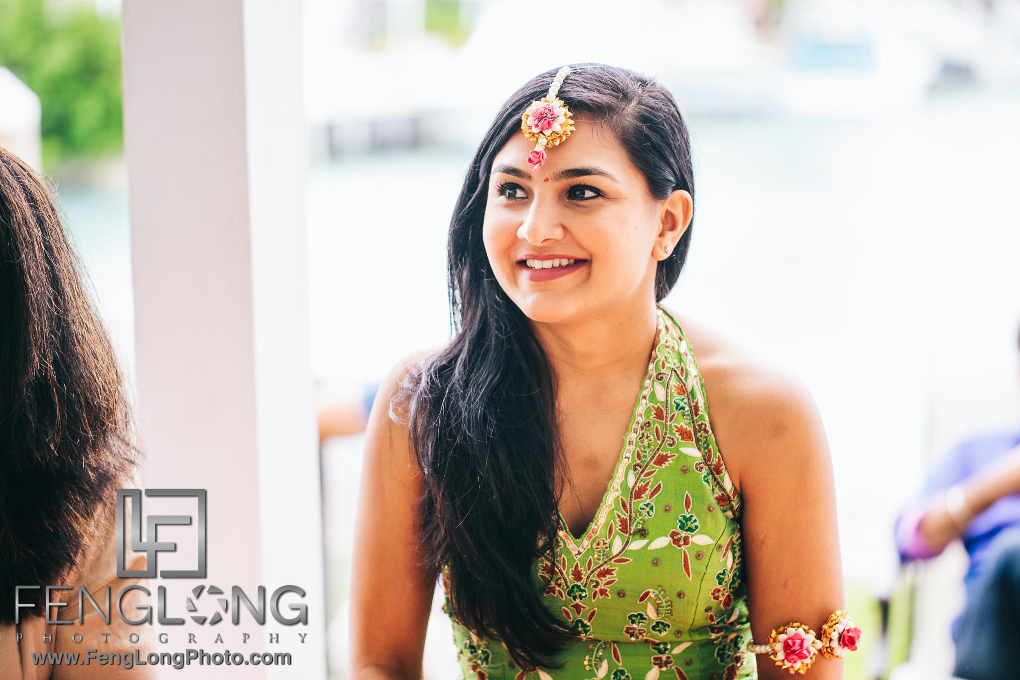 Hawk's Cay Fusion Jewish Indian Wedding Puja Ceremony