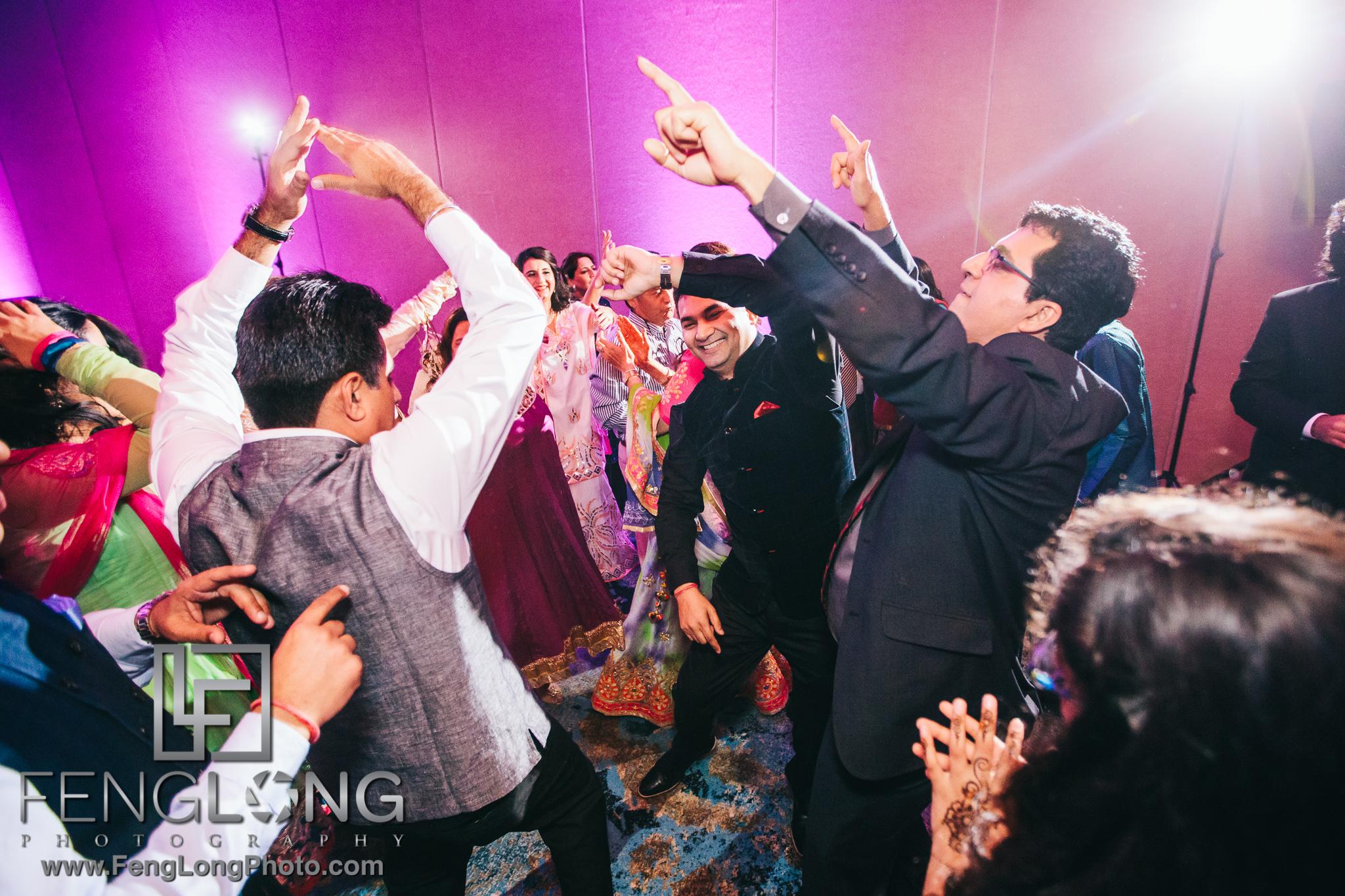 Hawk's Cay Fusion Jewish Indian Wedding Garba Sangeet Night