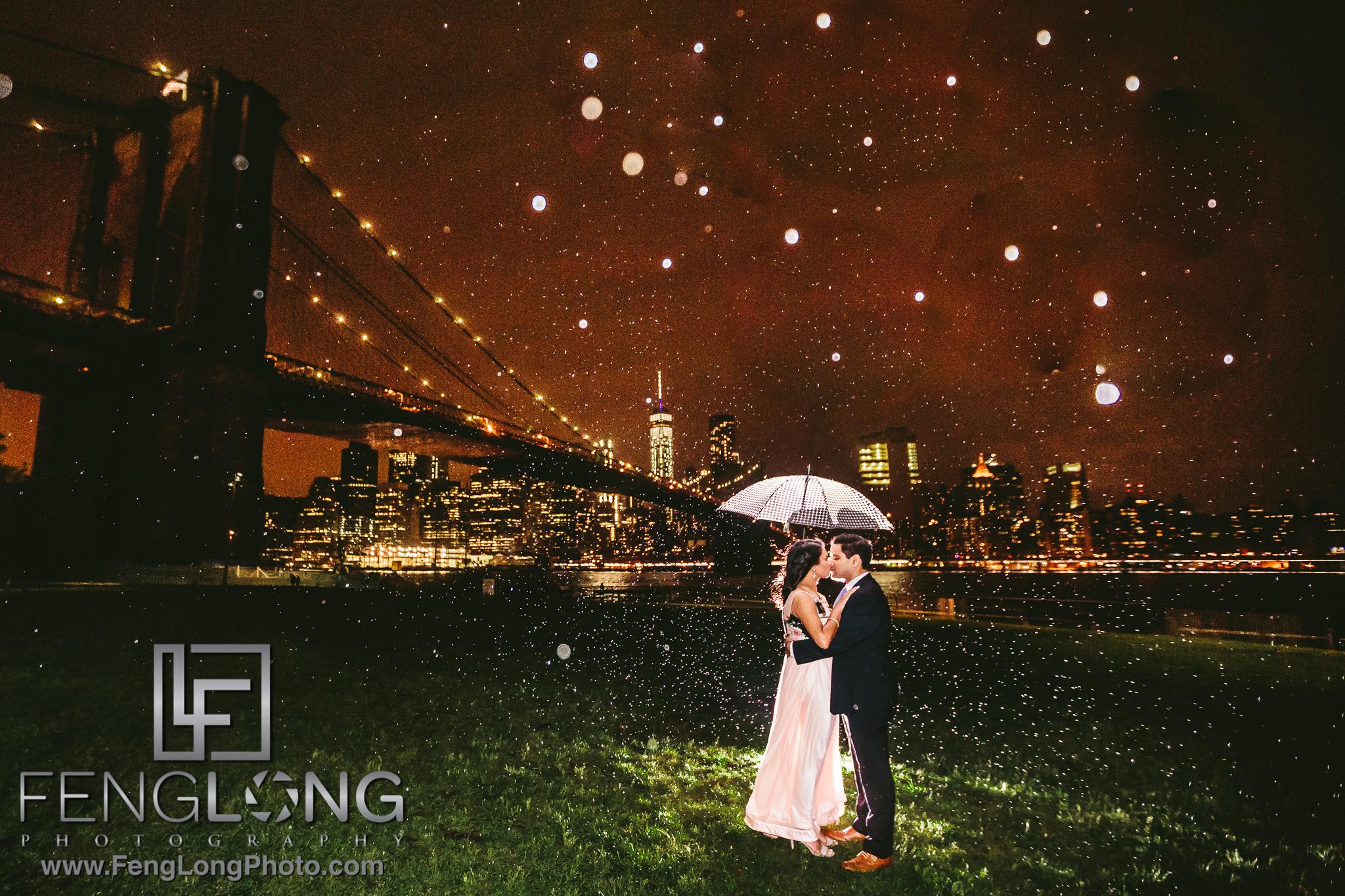 Brooklyn New York City Indian Pre-Wedding Photography
