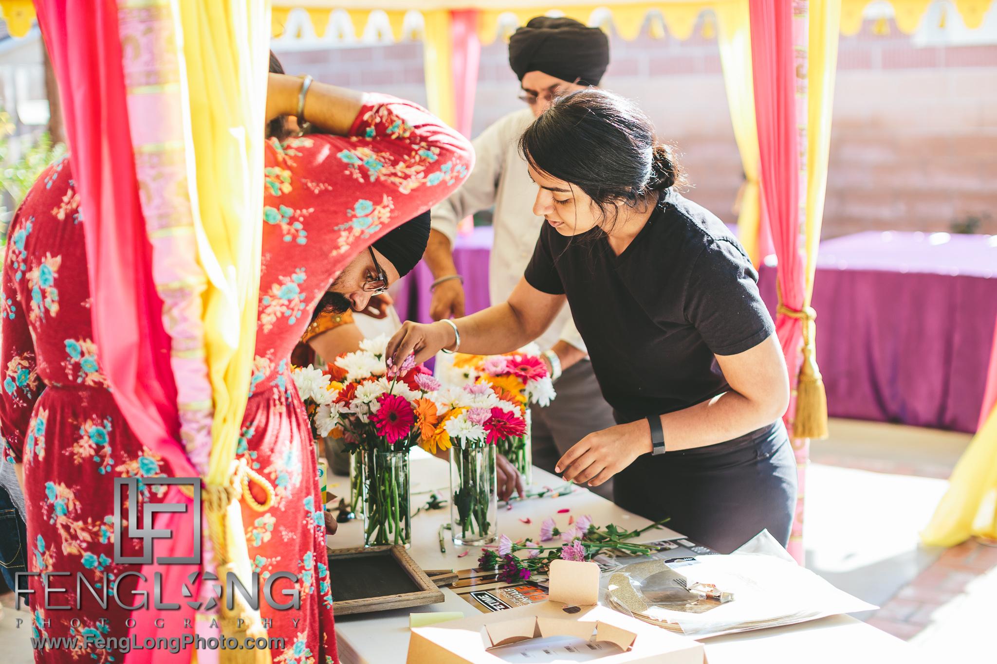 Mehndi Ceremony Explained : Rimmy karandeep california sikh indian wedding at