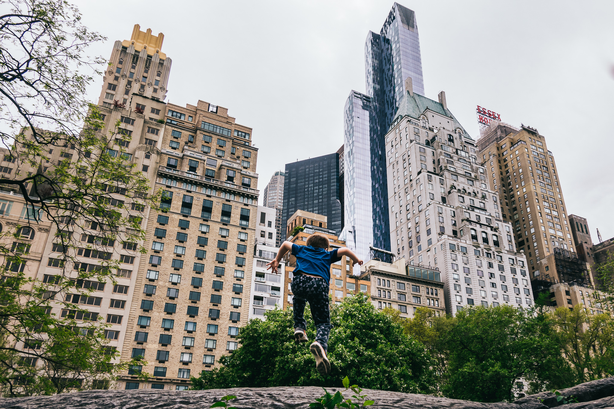 Central Park NYC with Sony RX100V