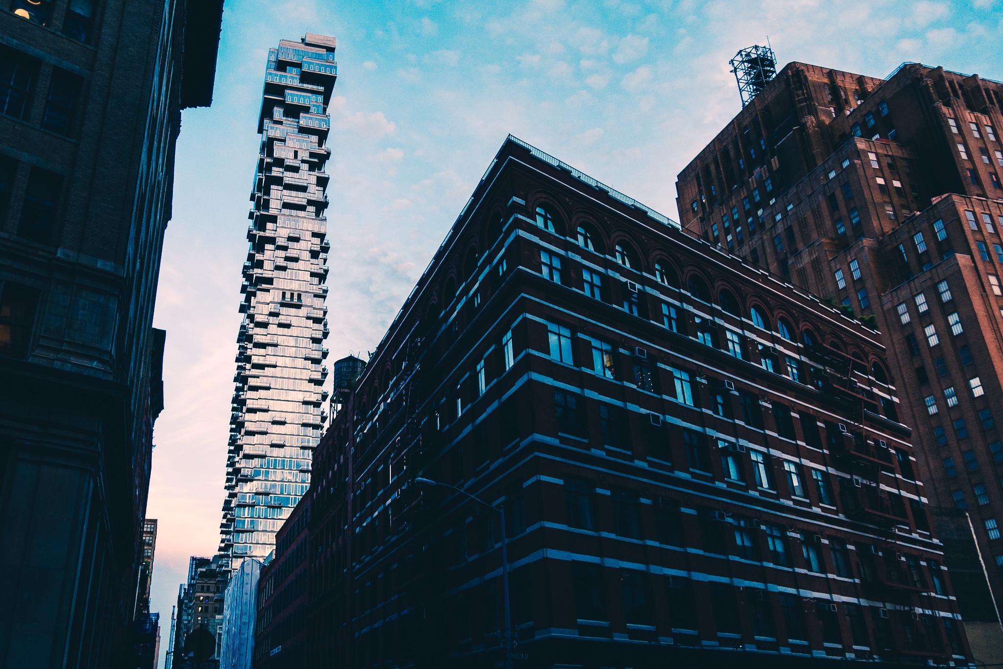 New York City Sony RX100V