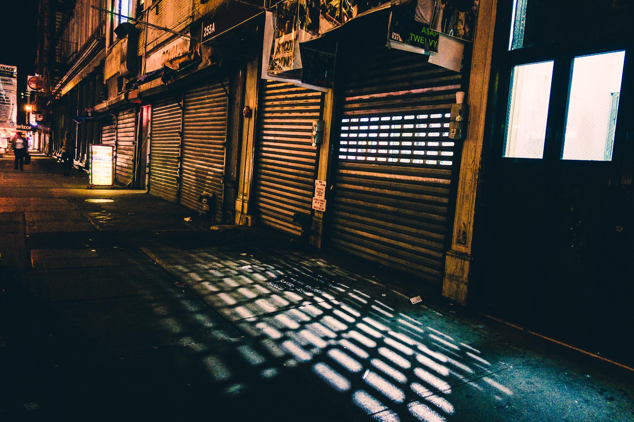 Chinatown New York City Sony RX100V