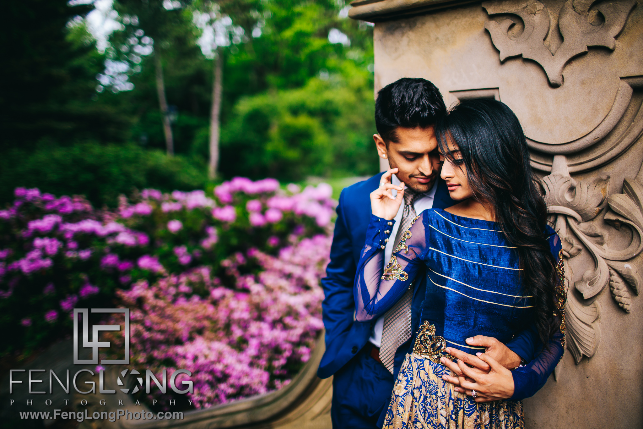 Indian Engagement Session in Central Park