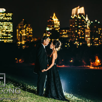 Vietnamese PreWedding Engagement Session in Midtown