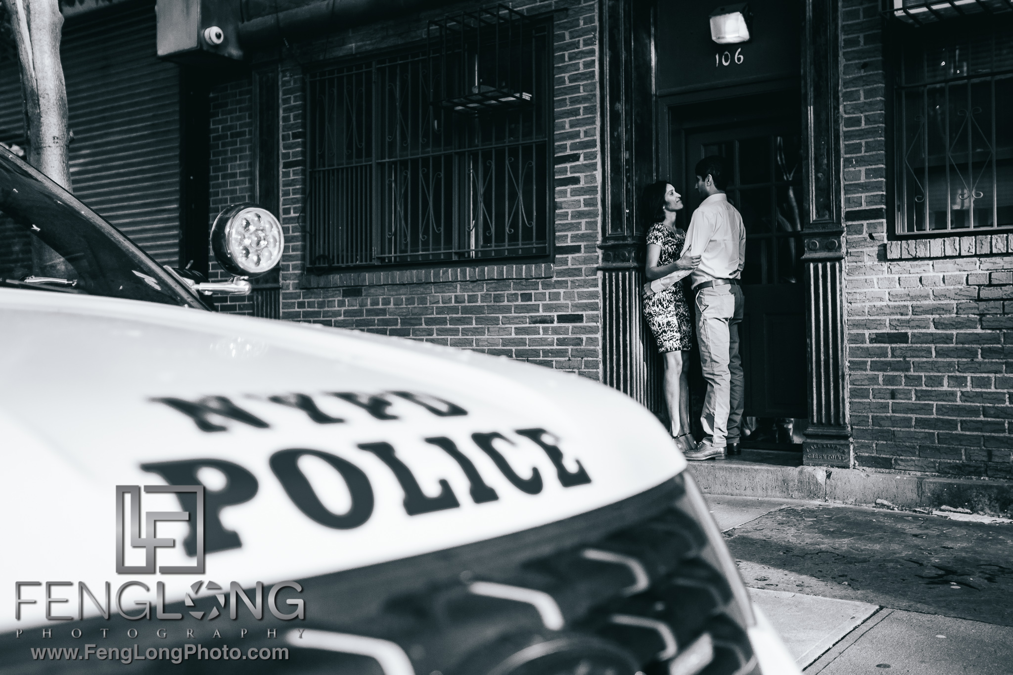 Indian Engagement Session in West Village New York City