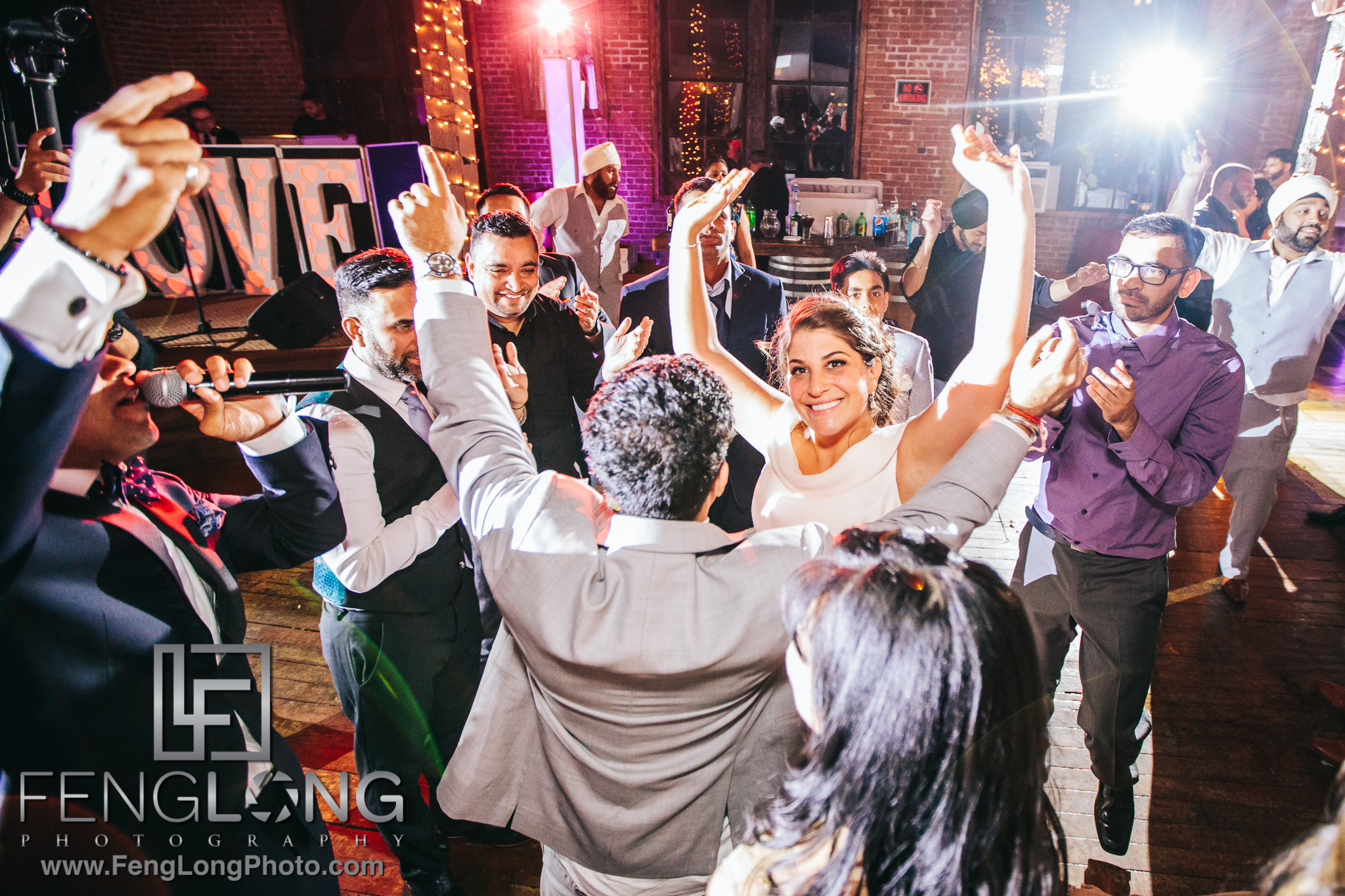 Fusion Sikh Indian Wedding at The Metropolitan Building in Long Island City NYC