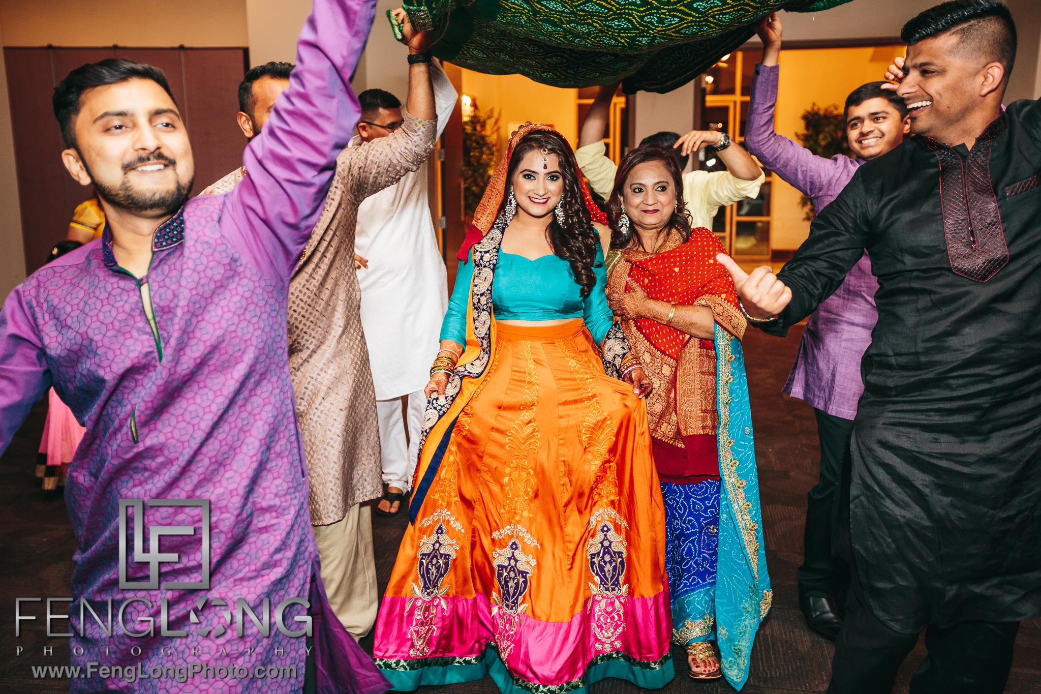 Al Noor Atlanta Indian Wedding Pithi Sangeet